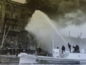Massey Shaw at Colonial Wharf 1936