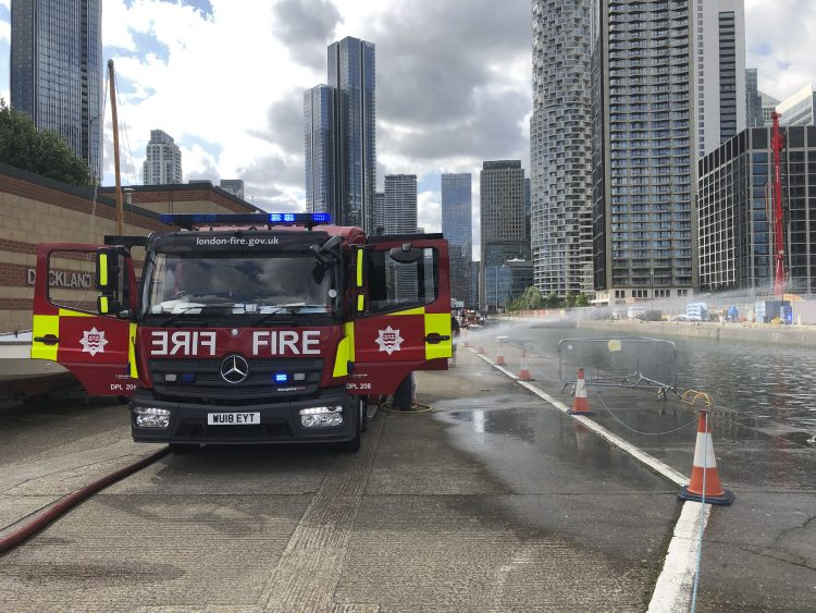 London Fire Engine - Open Day 2021