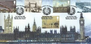 Palace of Westminster FDC 062 cover