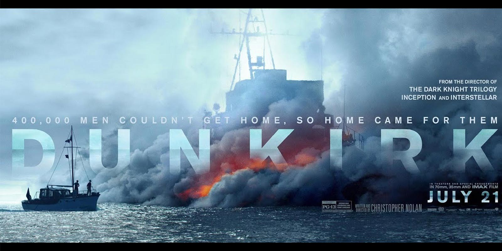 Dunkirk movie banner