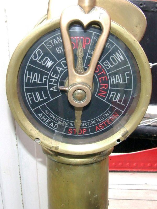 Massey Shaw engine telepgraph