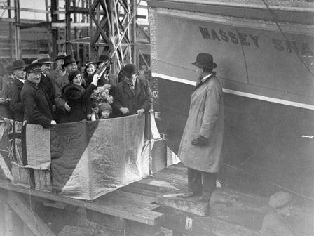 Massey Shaw Launch 1935